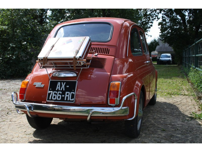 fiat 500 l de 1972 couleur orange