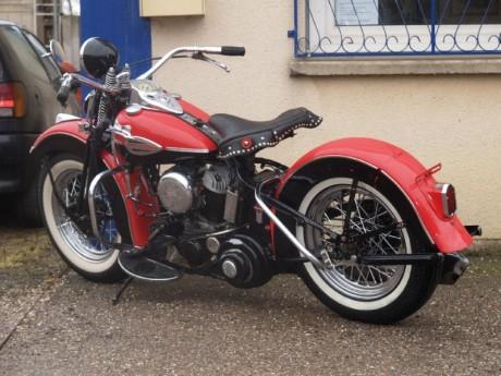 HARLEY DAVIDSON WLC 750
