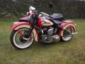 Harley Davidson 750 WLA Liberator avec side car