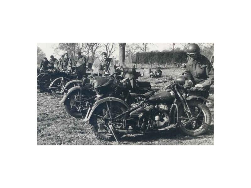 harley davidson 750 wla us army