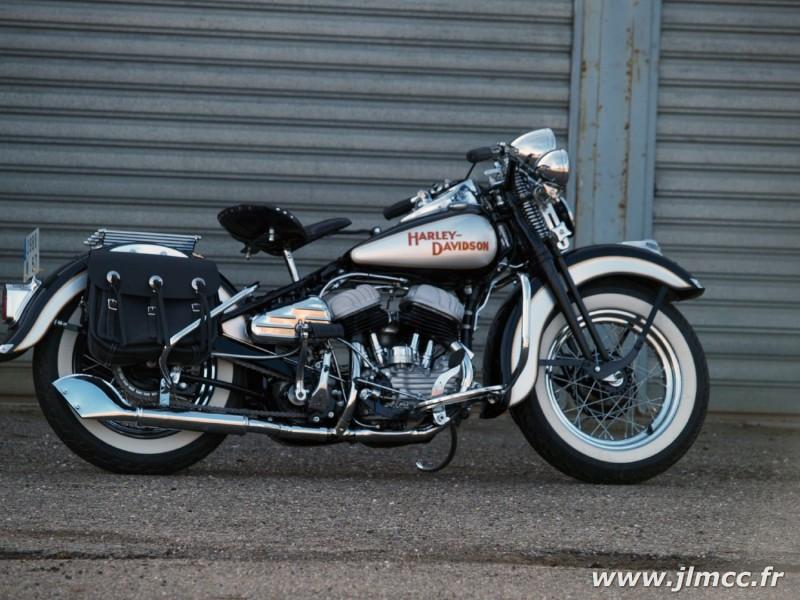 Harley Davidson Wla 750 Jlm Classic Car