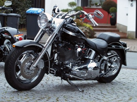 Harley Davidson Fat Boy Anniversaire 2003